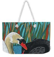 On Peaceful Pond Weekender Tote Bag