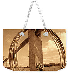 On The American Ranch Weekender Tote Bag by American West Legend By Olivier Le Queinec