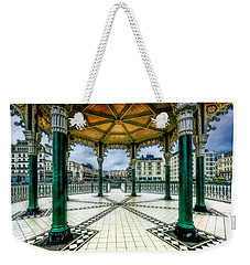 Weekender Tote Bag featuring the photograph On The Bandstand by Chris Lord