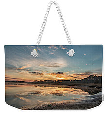 On The Banks Of The Nacote Weekender Tote Bag