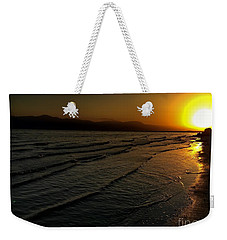 On The Banks Of The Salton Sea Weekender Tote Bag by Chris Tarpening