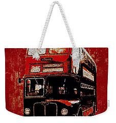 On The Bus Weekender Tote Bag