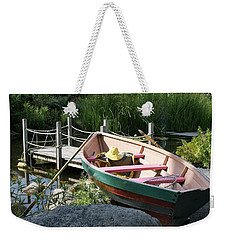 On The Dock Weekender Tote Bag by Lois Lepisto