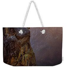 On The Edge Weekender Tote Bag by Nicki Frates