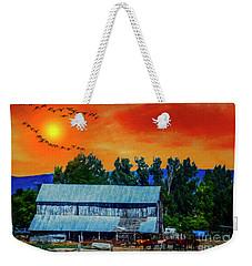 On The Farm II Weekender Tote Bag