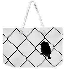 On The Fence Weekender Tote Bag by Afrodita Ellerman