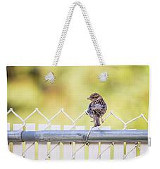 On The Fence Weekender Tote Bag