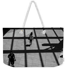 On The Grid Weekender Tote Bag