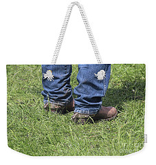 On The Ground Weekender Tote Bag
