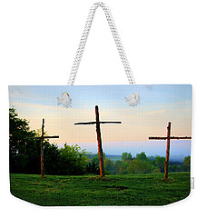 On The Hill Weekender Tote Bag by Cricket Hackmann