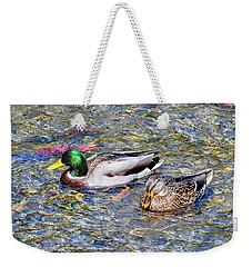 On The Hunt Weekender Tote Bag by David Lawson