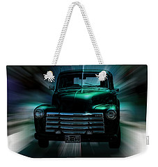 On The Move Truck Art Weekender Tote Bag