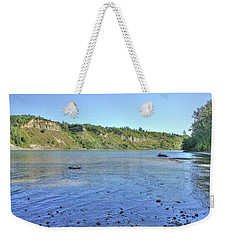On The North Saskatchewan River Weekender Tote Bag