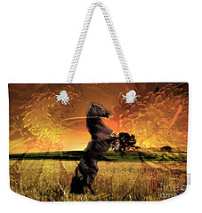 On The Open Range Weekender Tote Bag