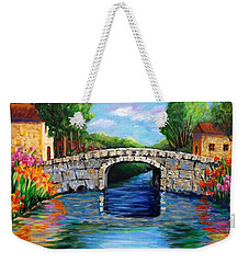 On The Other Side Of The Bridge Weekender Tote Bag