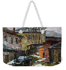 On The Outskirts Of Borovsk Weekender Tote Bag