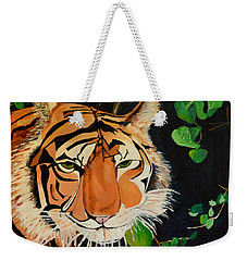 On The Prowl Weekender Tote Bag by Donna Blossom