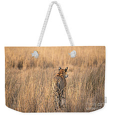 On The Prowl Weekender Tote Bag by Pravine Chester