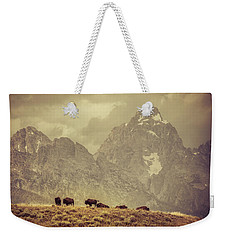 On The Ridge Weekender Tote Bag by Mary Hone