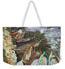 On The River Chusovaya Weekender Tote Bag