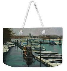 On The River Weekender Tote Bag