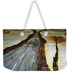 On The Road Of The Tree Of Life Weekender Tote Bag by Talisa Hartley