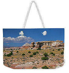 On The Road To Cathedral Valley  Weekender Tote Bag