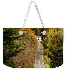 On The Road To New Paltz Weekender Tote Bag