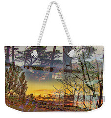 On The Road To Nowhere Weekender Tote Bag by Nancy Marie Ricketts