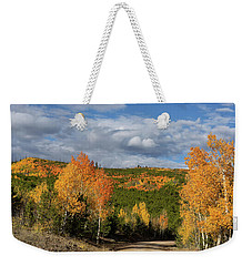 On The Road To Spirit Lake Weekender Tote Bag