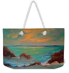 On The Rocks Weekender Tote Bag by Holly Martinson