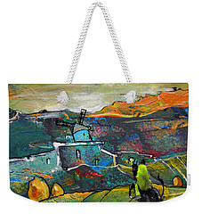 On The Steps Of The Quijote Weekender Tote Bag