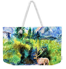 On The Stream Weekender Tote Bag