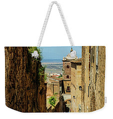 On The Streets Of Caceres Weekender Tote Bag