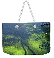 On The Surface Weekender Tote Bag