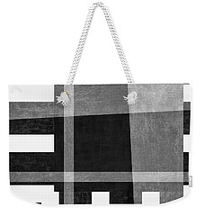 Weekender Tote Bag featuring the photograph On The Tarmac Designer Series 3a18bw by Carol Leigh