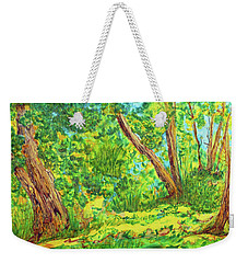 On The Path Weekender Tote Bag by Susan D Moody