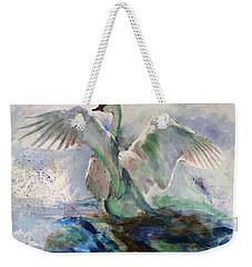 On The Water Weekender Tote Bag by Khalid Saeed