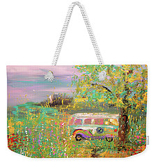 On The Way Weekender Tote Bag
