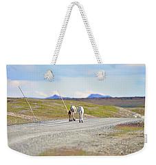 On The Way Weekender Tote Bag