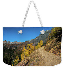 On The Way To Clear Lake In Co - 0056 Weekender Tote Bag