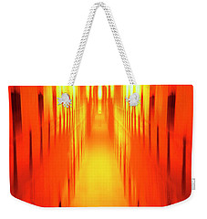 Weekender Tote Bag featuring the photograph On The Way To Death Row by Paul W Faust - Impressions of Light