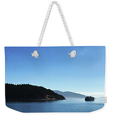 On The Way To Orcas Weekender Tote Bag