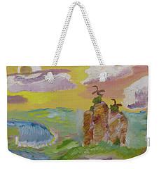 On The Wild Side Weekender Tote Bag by Meryl Goudey