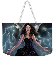 On The Wings Of The Storm Weekender Tote Bag