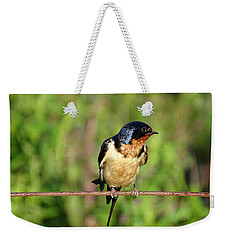 On The Wire 3 Weekender Tote Bag