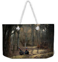 On The Woodlot Path Weekender Tote Bag