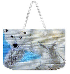 On Thin Ice Weekender Tote Bag