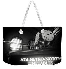 On Time At Grand Central Station Weekender Tote Bag