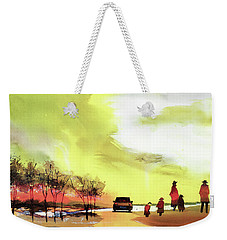 On Vacation Weekender Tote Bag